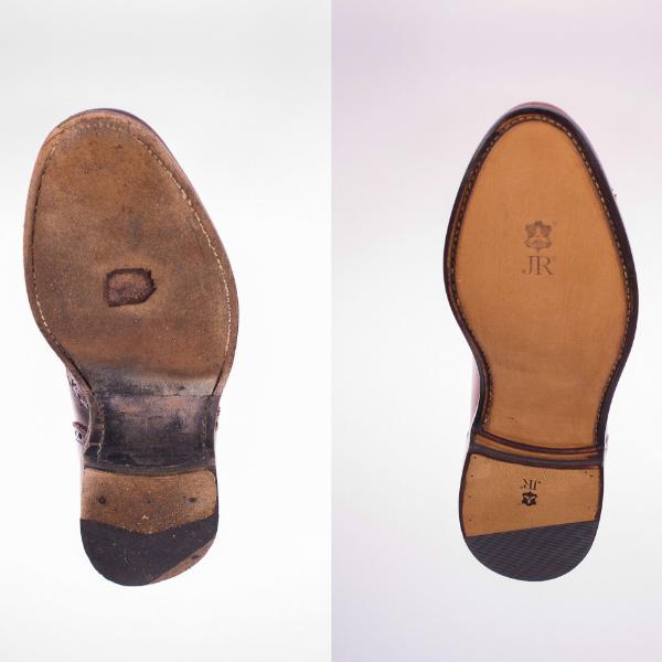 Reparaturen qualitativer Schuhe