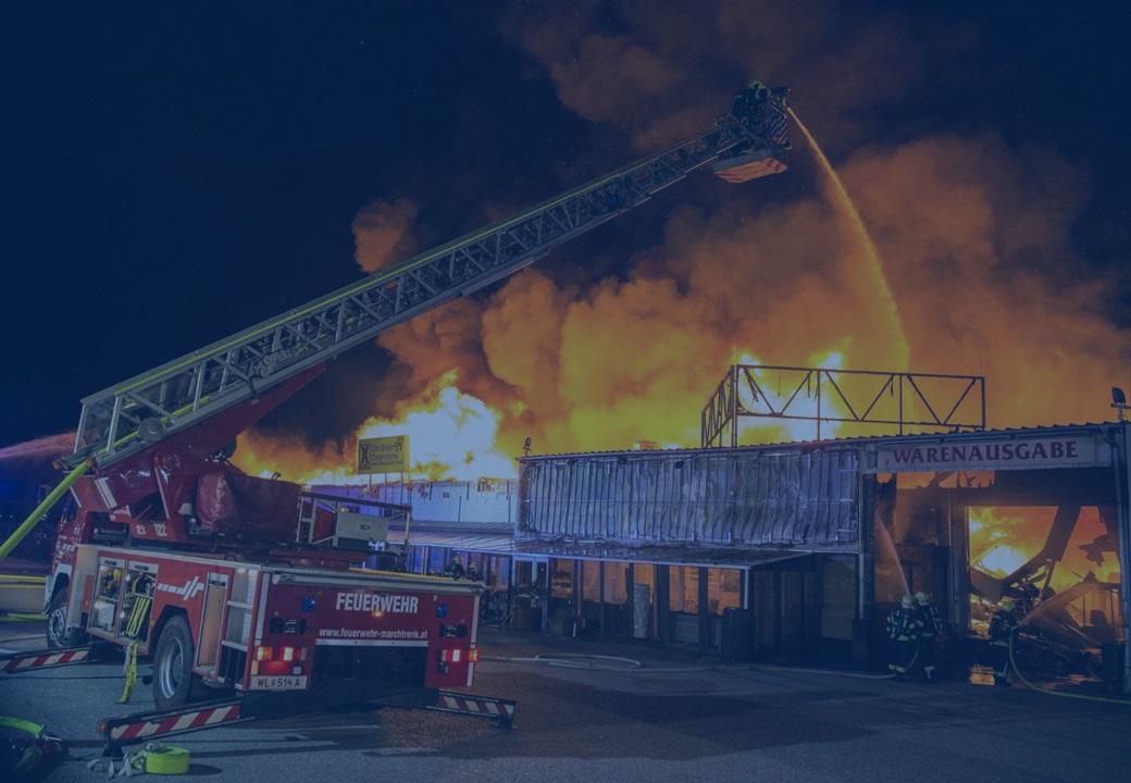 Feuerversicherung für Betriebe