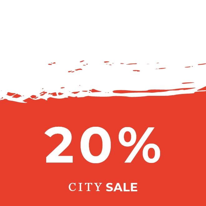 City Sale -20%