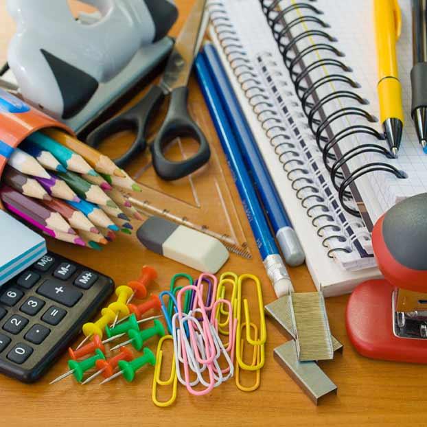 Büro- und Schulwaren
